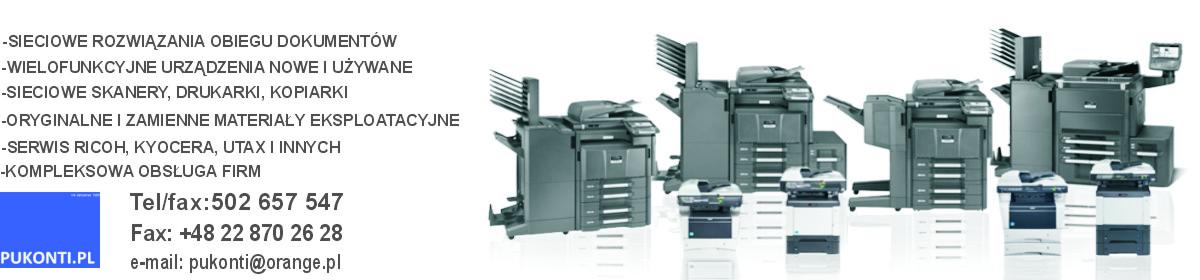 PUKONTI.PL – Autoryzowany serwis kserokopiarek, drukarek i skanerów UTAX. Naprawa RICOH, Kyocera, UTAX