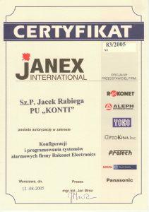 certyfikat_JANEX