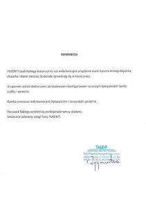 Referencje-TALENT-Agencja Artystyczna