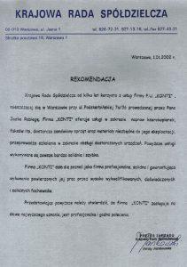 REFERENCJE_KRS - Krajowa Rada Spółdzielcza